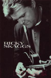 "Ricky Skaggs Life After Nashville Pulse! Magazine Feature Promo Postcard 4""x6"""