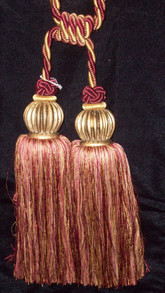 Red/Gold double tassel