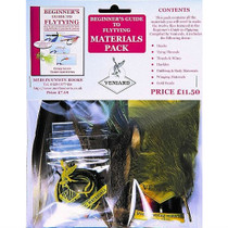 Beginners Fly tying Materials Kit