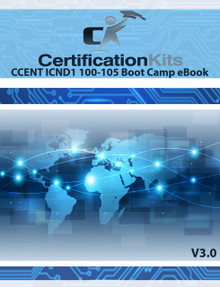 CCENT ICND1 100-105 Boot Camp Study Guide eBook