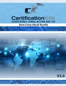CCENT ICND1 / ICND2 & CCNA 200-125 Boot Camp eBook Bundle
