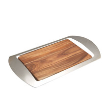 Nambe Mikko Bar Tray or Challah Board