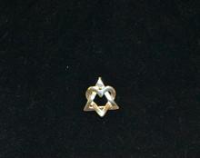 Star of David Heart Pendant