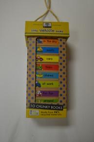 Chunky Books- Set of 10 Vehicle Books