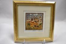 Framed Noah's Ark Art