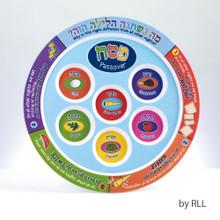 Child's Melamine Seder Plate