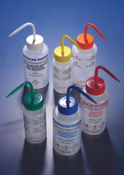 Azlon W/M Wash Bottle, LDPE Non-Venting