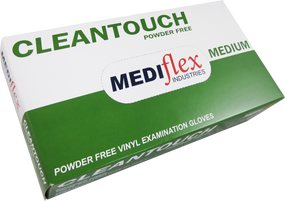 Clean Touch Vinyl Powder Free Gloves