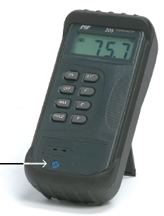 TC305K Digital Thermometer, Data Logger