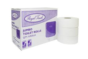 Jumbo Toilet Tissue 2ply x 300