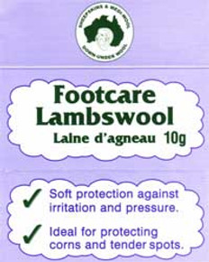 Footcare Lambswool: L101