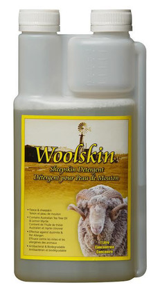 Woolskin: Sheepskin Conditioner and Shampoo: 1.0L Measuring Bottle