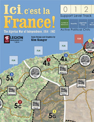 Ici, c'est la France! 2nd Edition - Map
