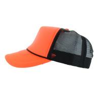 ... Washed Cotton Polo Style Caps (Solid Light Grey). SKU   BP080-13   26.00 dozen.  26.00. VP020 Blank Plain Foam Mesh Trucker Cap Hat (Neon  Orange   Black) 2d1d76c86d53