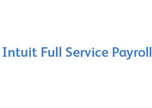 Intuit Payroll Full Service