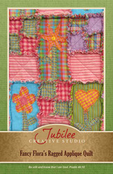 Fancy Flora's Ragged Quilt Pattern - DIGITAL