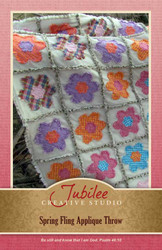 Spring Fling Ragged Quilt - DIGITAL