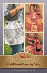 Gracie Patchwork Braided Bag Pattern - DIGITAL