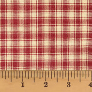 Autumn Red 4 Homespun Cotton Fabric