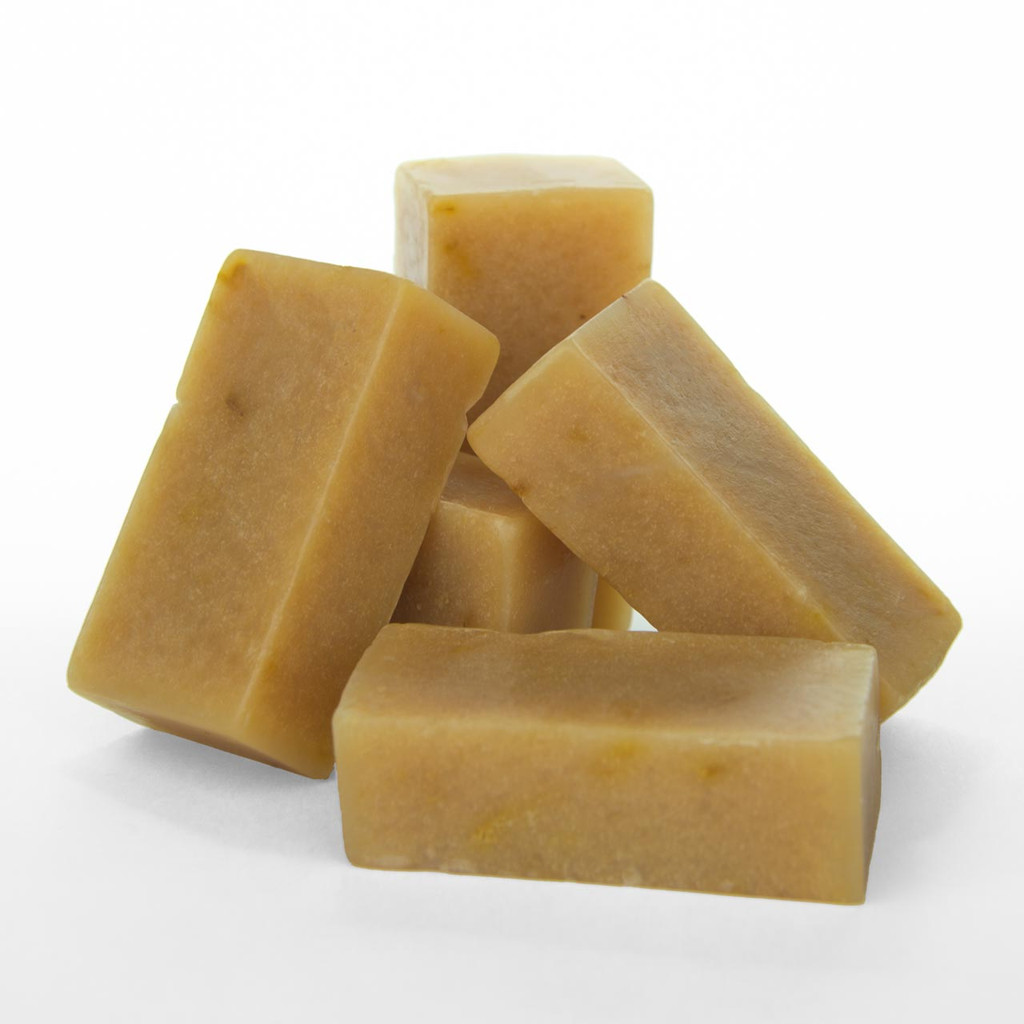 Smaller Vanity Sized (1 oz) Chunks | Calendula Goat Milk Soap | Horse O Peace