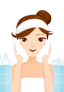Natural Skin Care Illustration