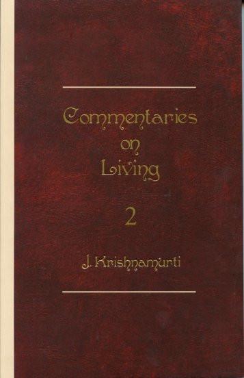 Commentaries on Living: Series II