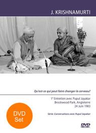 Conversations avec Pupul Jayakar - BR83CPJ1-2-V-FRE-SET