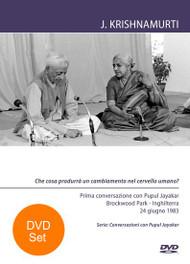Conversazioni con Pupul Jayakar - BR83CPJ1-2-V-ITA-SET