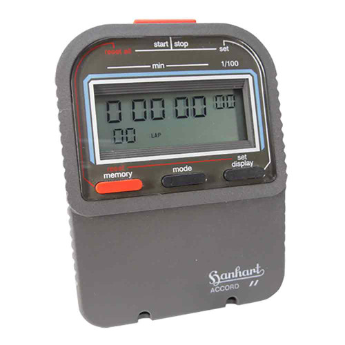 Hanhart 265.6765-VO Accord 1 Digital Stopwatch - Calibrated
