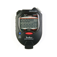 Hanhart 245.1946- VO Delta E 200 Black Digital Stopwatch - Calibrated