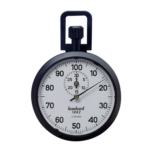 Hanhart 111.0217-00 Crown Stopper Mechanical Stopwatch