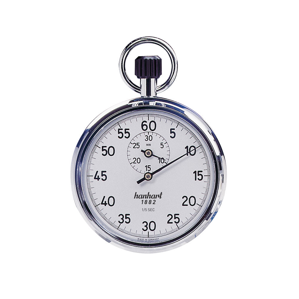 hanhart crown stopper 112 0101 00 mechanical stopwatch stopwatches usa