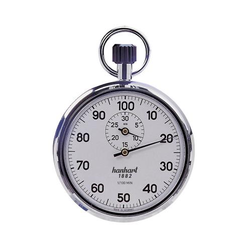 Hanhart 112.0201-00 Crown Stopper Mechanical Stopwatch