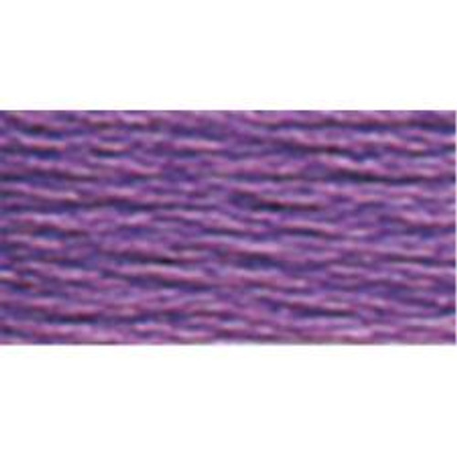 DMC Pearl Cotton Thread Ball | Size 5 | 208 Very Dark Lavender  by Nakpunar.