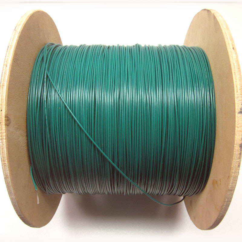 18AWG Hookup Wire Green Electrical Reel Cable Wires - 2750\'