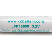 10 NEW K2 Energy LFP18650E LiFePO4 18650 Rechargeable 1500mah Batteries 3.2V LFP