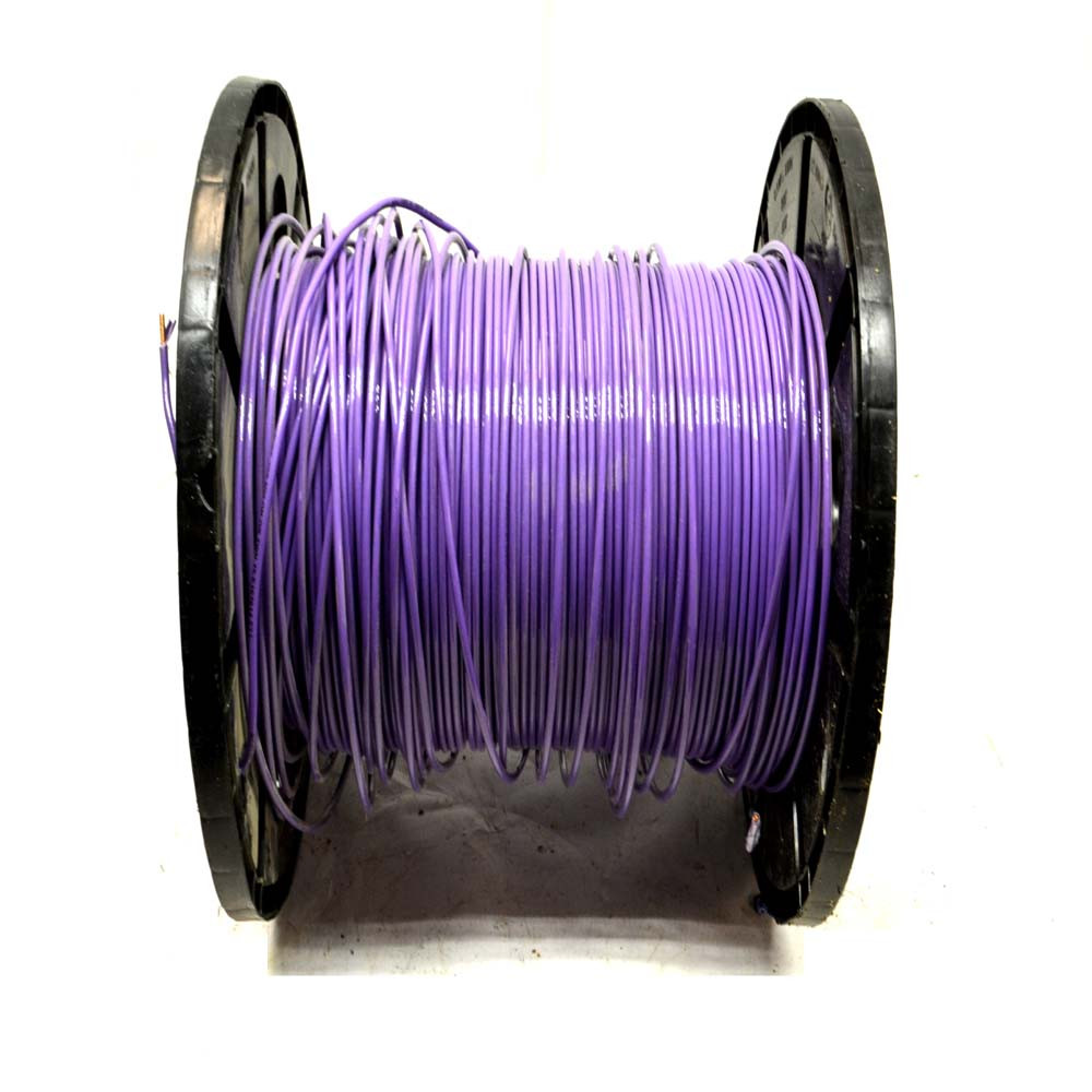 860ft. Republic Wire E167614 FT1 10AWG/600V VW-1 Solid Copper Wire ...
