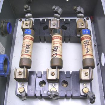 hoffman j p box 12x10x5 w allen bradley 100a 600v x fuse block w rh dougdeals com