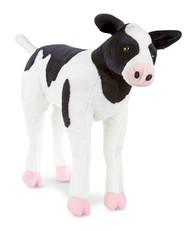 Baby the Calf - Large Stuffed Cow