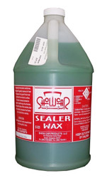 Show Car SEALER WAX is a highly concentrated spray wax that is formulated for automatic dilution/proportional systems.  SEALER WAX dilutes (400:1) easily in all metered applications.  Thin formula will not clog tips, valves or nozzles. Can also be used in pump sprayers.