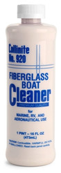 No. 920 Fiberglass Boat Cleaner is a First step product that restores blemished fiberglass, while preparing surface for follow-up wax application it restores neglected fiberglass finishes effected by weathering. It also Improves the wax bond,spread and staying power.