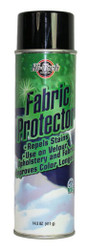 Hi-Tech's new aerosol Fabric Protector provides easy, VOC compliant protection to fabric, carpet and upholstery. Simply spray on a clean surface and let it dry. Recoat multiple times for added protection. 12 cans per case.