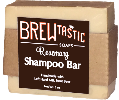 6oz Rosemary Beer Shampoo Bar