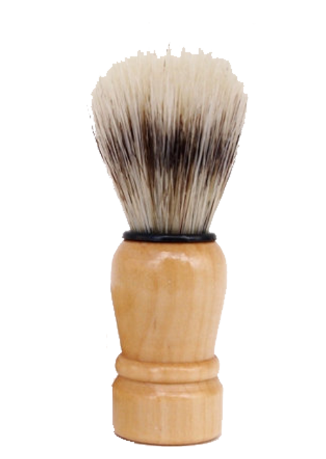 Our beginner's shaving brush is handmade with natural boars hair for a stiff aggitation to lather shaving soap. High quality and guaranteed to last for over a year, use this brush to graduate to a higher appreciation for the traditional shaving.