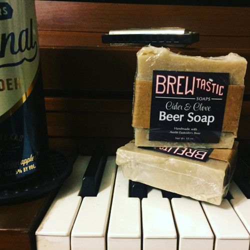 Cider & Clove Beer Soap