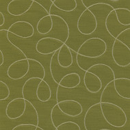 Loopy Green Upholstery Fabric Swatch