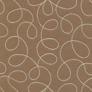 Loopy Cream Upholstery Fabric Swatch