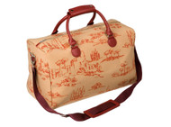 Tuscan Toile Weekend Duffle Bag