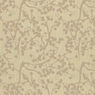 Cherries Beige Upholstery Fabric