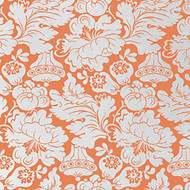 Melrose Persimmon Upholstery Fabric Swatch
